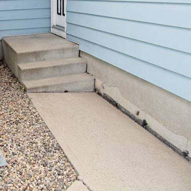 Vajunud betoonpõrandate tõstmine